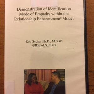 D-110 – Demonstration of the Identification Mode of Empathy within the Relationship Enhancement® Model (by Robert Scuka)