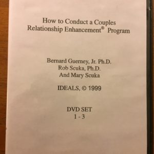 D-102 – How to Conduct Relationship Enhancement® Therapy with Couples and Families