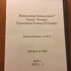 D-106 – Relationship Enhancement® Family Therapy: The Experiential Format (P-Family) (Bernard Guerney)