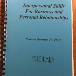M-204 – Interpersonal Skills for Business and Personal Relationships