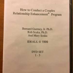 HS-201 How to Conduct a Couples RE Program: An 8 DVD set, video-based home study program for Couple and Family Educators Leading to Authorization to conduct the Couples RE Program. Includes 3 hours telephone consultation
